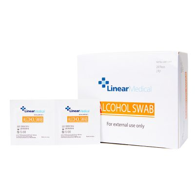 ALCOHOL swabs BOX 200