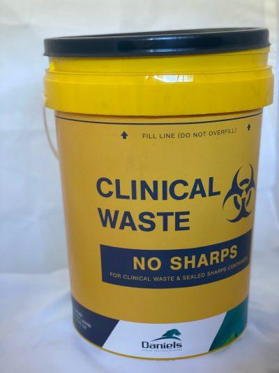 Clinical waste bin 20ltr