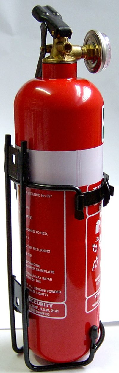 FIRE EXTINGUISHER 1kg DRY CHEMICAL - FIREBOSS 1