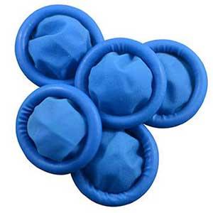 Blue FINGER COTS Size Large-PKT 100 1