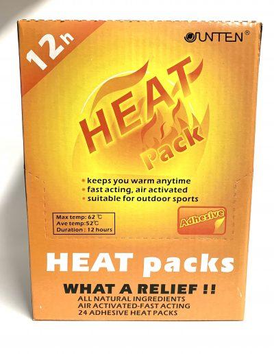 Heat Packs- BOX OF 24 1