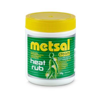 METSAL CREAM 500G
