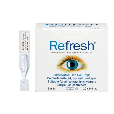 REFRESH EYE DROPS BOX