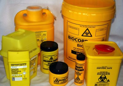 SHARPS CONTAINER 8l 1
