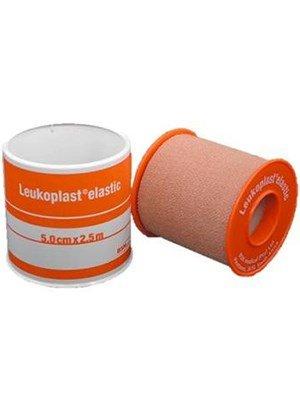 TAPE LEUKOPLAST ELASTIC 5CM X 2.5M ORANGE 1