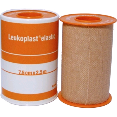 TAPE LEUKOPLAST ELASTIC 7.5CM X 2.5M ORANGE
