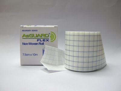 AsGuard Flex Non-Woven Roll 7.5cm x 10m 1