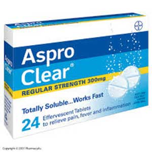 ASPRO CLEAR TABS 24's 1