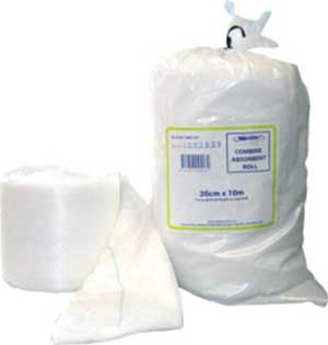 COMBINE ROLL 10CMx10M NON STERILE ABSORBENT 1