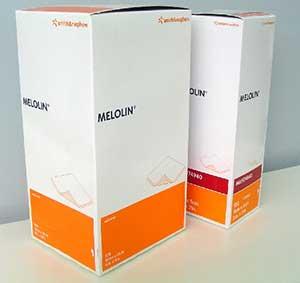 Melolin Dressing 5x5cm/100 1