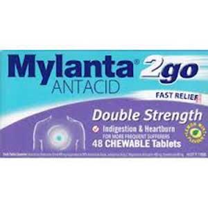 MYLANTA II TABS 48'S 1