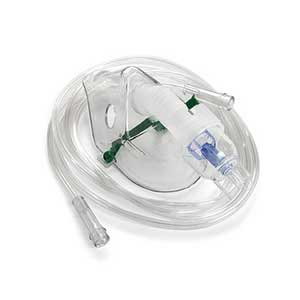 OXYGEN MASK/NEB/TUBING CHILD DISPOSALBE EACH 1