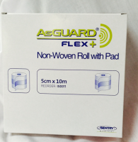 AsGuard Non-Woven Roll with Pad 5cm x 10m 1