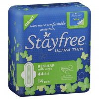 STAYFREE REG with Wings PKT 14 1