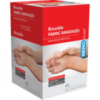 ADHESIVE KNUCKLE DRESSINGS FABRIC BOX 40 1