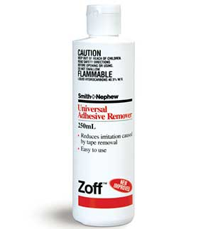 ZOFF ADHESIVE REMOVER 250ML 1