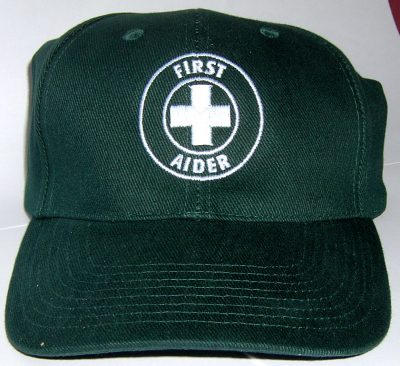 FIRST AIDER CAP BRUSHED COTTON 1