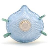 P2 MASK - WITH VALVE - BOX 10 1