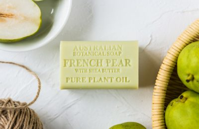Botanical Australian Soap- French Pear with Shea Butter 1
