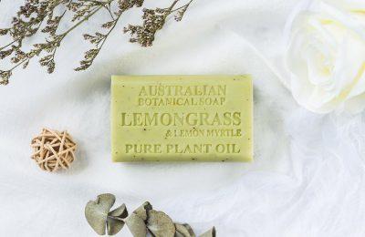 Botanical Australian Soap- Lemongrass & Lemon Myrtle 1