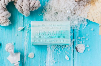 Botanical Australian Soap- Sea Salt with Ocean Minerals 1