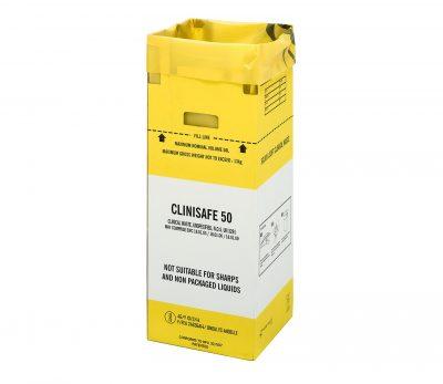 Clinisafe 25ltr cardboard bin